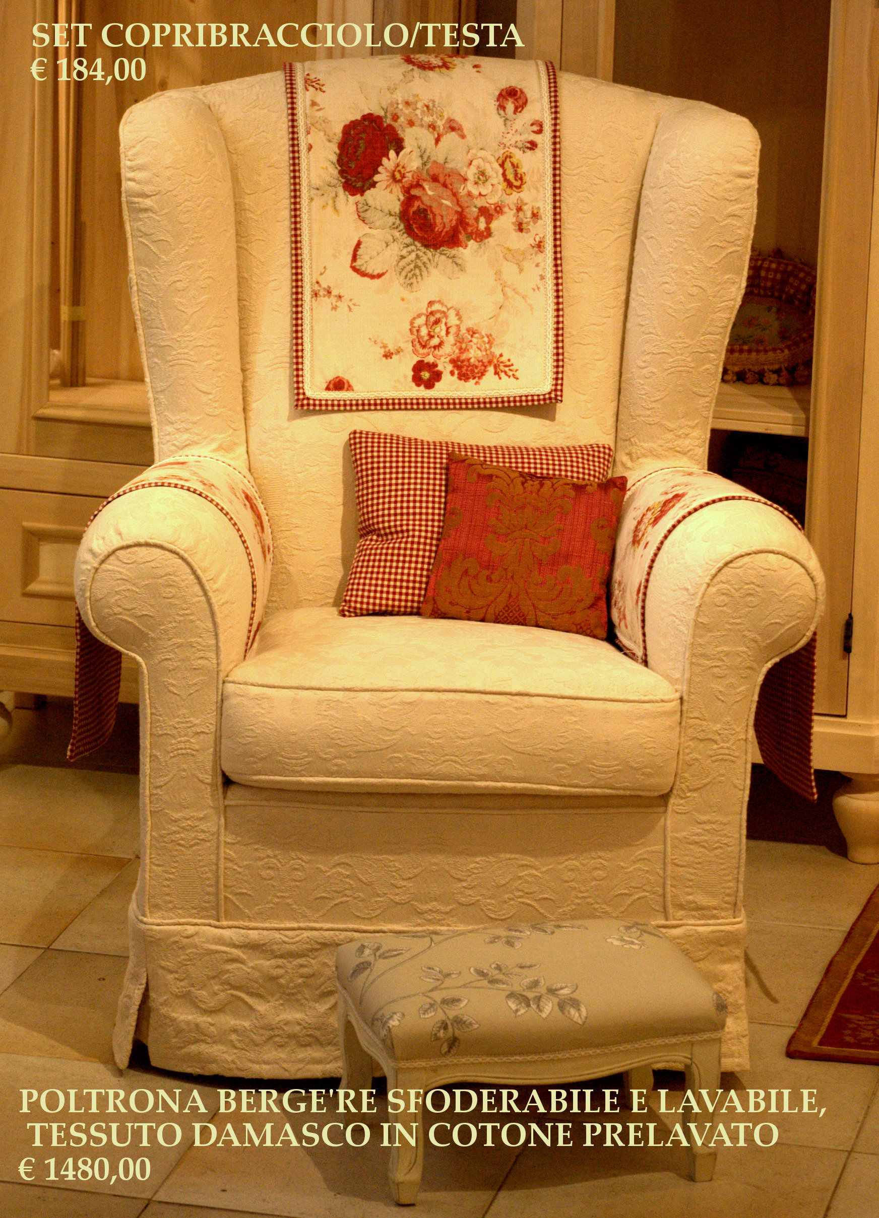 La tappezzeria a trieste rinnovo divani poltrone - Tessuti per divani vendita on line ...