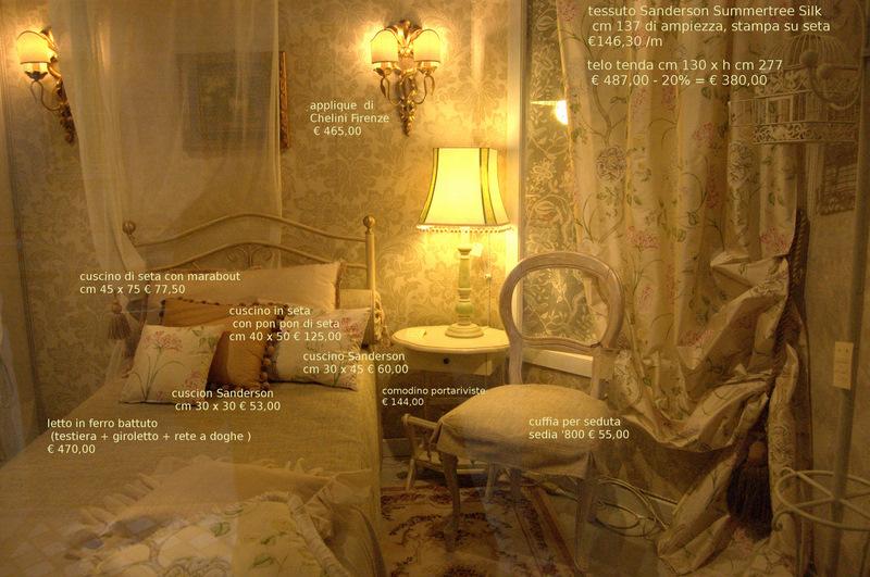 Arredamenti country con tessuti stampati mobili decorati for Chelini arredamenti