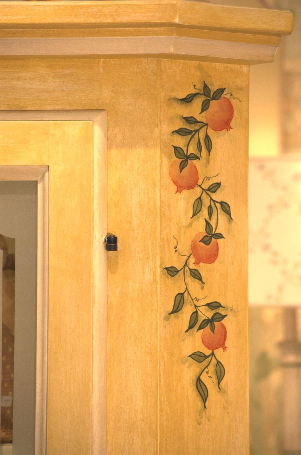 Accessori bagno in legno arte povera mobili decorati a for Mobili soggiorno decorati