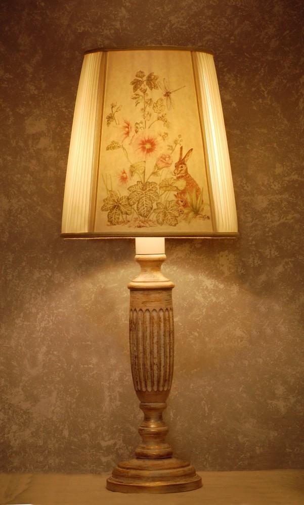Disegno country lampade - Cappelli per lampade da tavolo ...